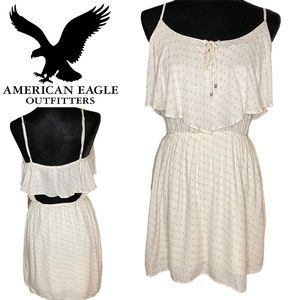 American Eagle Summer Dress White Small